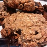 Banana Oat Date Breakfast Cookies