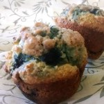 Blueberry Muffins with Ricotta and Cornmeal