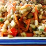 Meatless Monday: Lentil Barley Salad with Lemon Thyme Vinaigrette