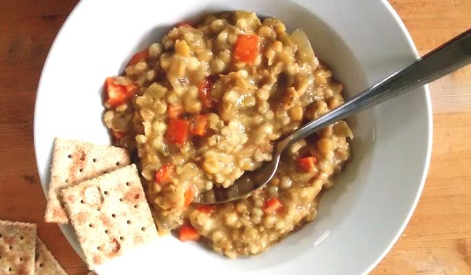 Split Pea Barley Stew