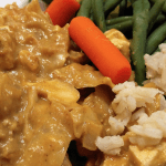 Meatless Monday: Slow Cooker Pumpkin Peanut Tofu