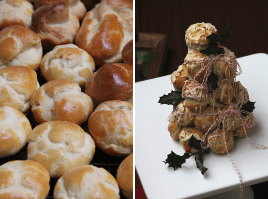 Holiday Croquembouche © KETMALA'S KITCHEN 2012-13