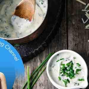 5 Ingredient Keto Herb Cheese Sauce