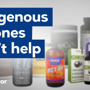 Exogenous ketones DON'T help keto diets with muscle mass