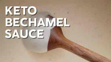 Keto bechamel sauce – Gluten free recipe