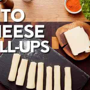 Keto cheese roll-ups