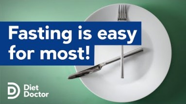 Intermittent fasting is easy for most people
