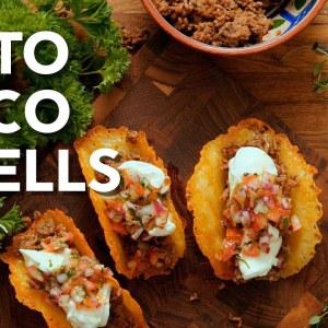 Keto taco shells