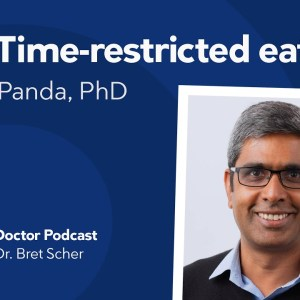 The science of time-restricted eating with Satchin Panda, PhD — Diet Doctor Podcast