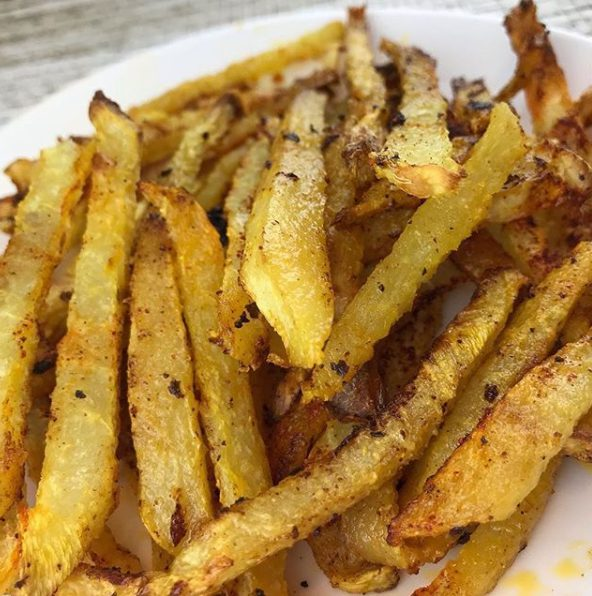 JICAMA FRIES!