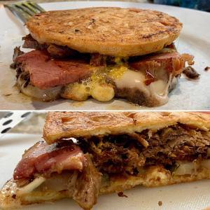 Keto Cubano sandwich