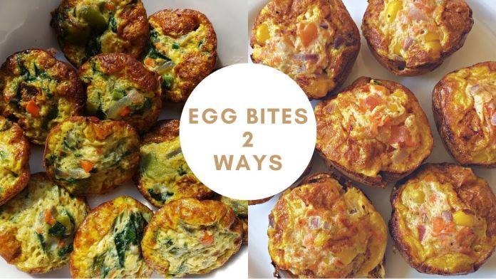 Low Carb Egg Bites