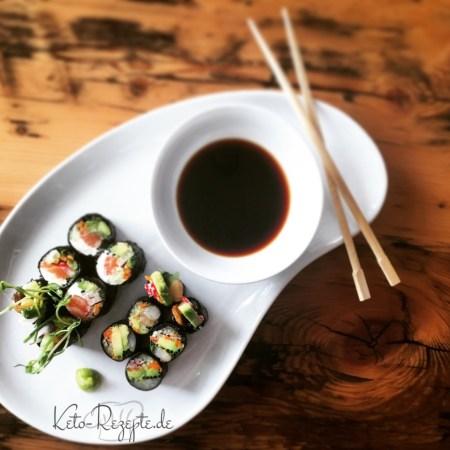 Keto Lowcarb Susho ohne Reis