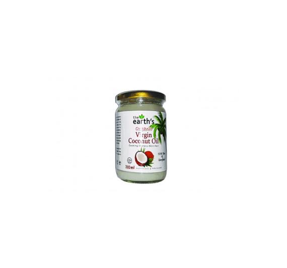 The Earth Organic Virgin Coconut Oil 310ml Price in Pakistan