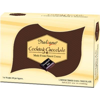 Italiano Cooking Unsweetened Dark Chocolate 300gm Price in Pakistan