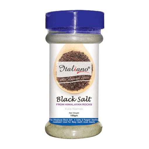 Italiano Black Salt 150gm Price in Pakistan