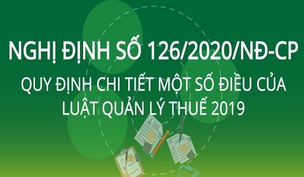Nghị định 126/2020/NĐ-CP