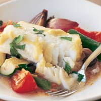 One Pan Mediterranean Fish Bake Perfect for the Keto Diet