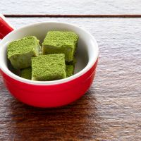 Matcha Green Tea Tahini Bites
