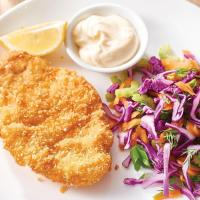 Keto Pork Schnitzel and Slaw