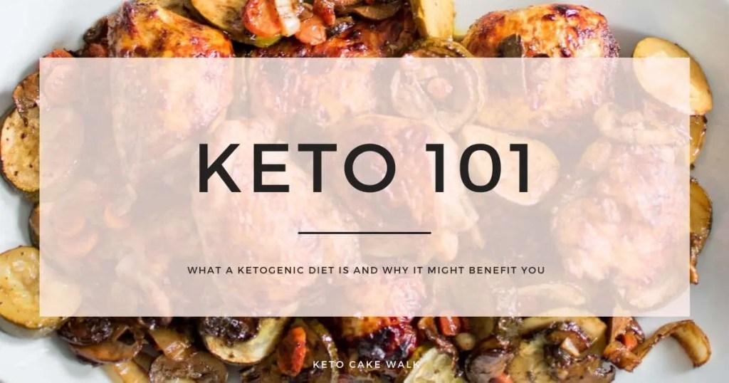 Keto 101: The Basics for Beginners -keto cake walk-