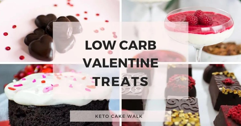 Eight Perfect Keto Valentine's Day Desserts -keto cake walk-