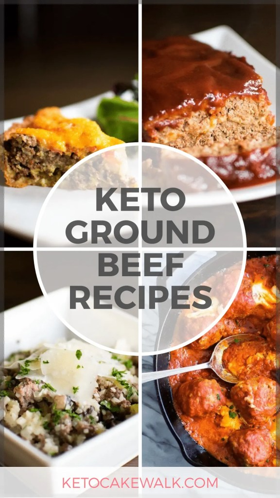 Ground beef recipes are super easy and they cost less, too! Get nutritious recipes that don't cost a fortune and start cooking right away! #keto #lowcarb #groundbeef #beef #dinner #easy #cheap #inexpensive #glutenfree #grainfree