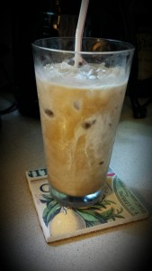 Cold-brewed Coffee with Heavy Cream