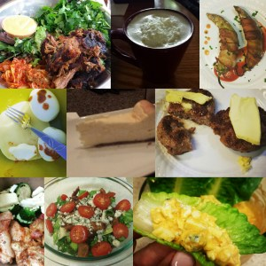 Aug keto meals collage