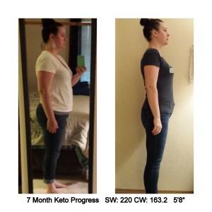 7 Month Keto Progress