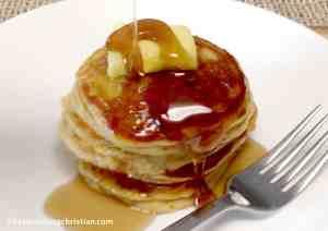 Pumpkin Pancakes - Keto, Low Carb & Gluten free
