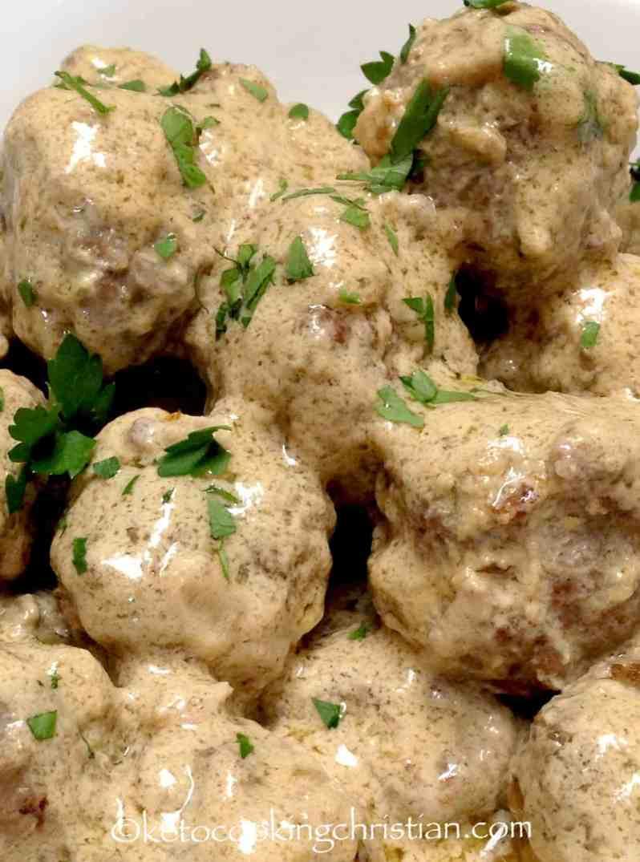 Swedish Meatballs - Keto and Low Carb