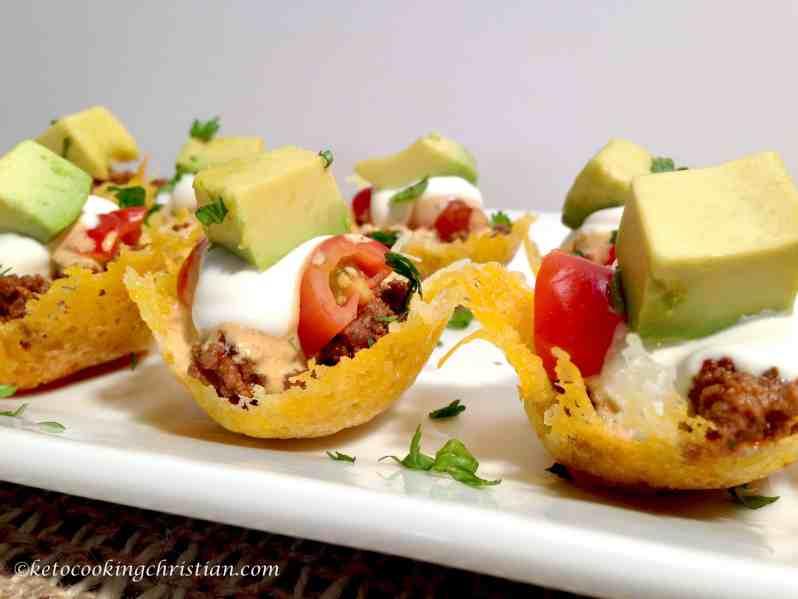 Mini Taco Bites - Keto and Low Carb