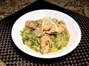 lemon chicken zoodles keto low carb gluten free
