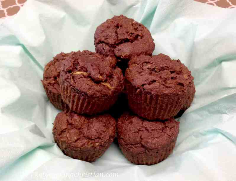chocolate zucchini muffins keto low carb gluten free