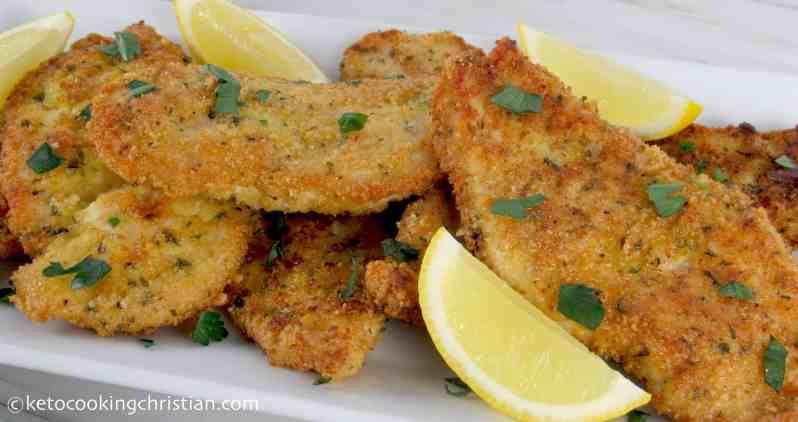 Chicken Milanese - Keto, Low Carb & Gluten Free