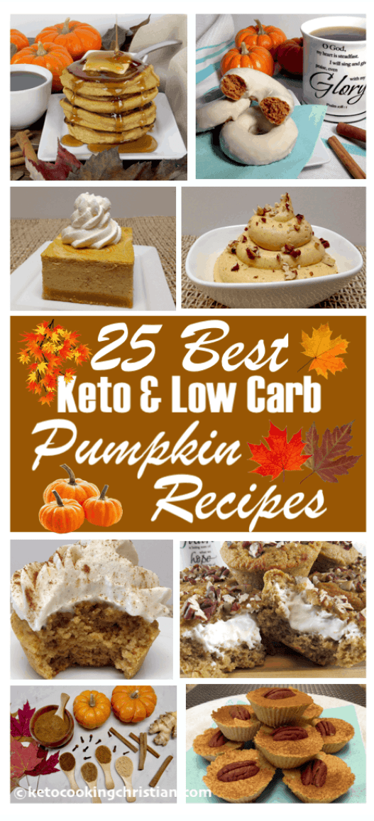 25 Best Keto and Low Carb Pumpkin Recipes