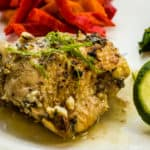 Garlic Lime Chicken Thighs are keto friendly and super yummy.