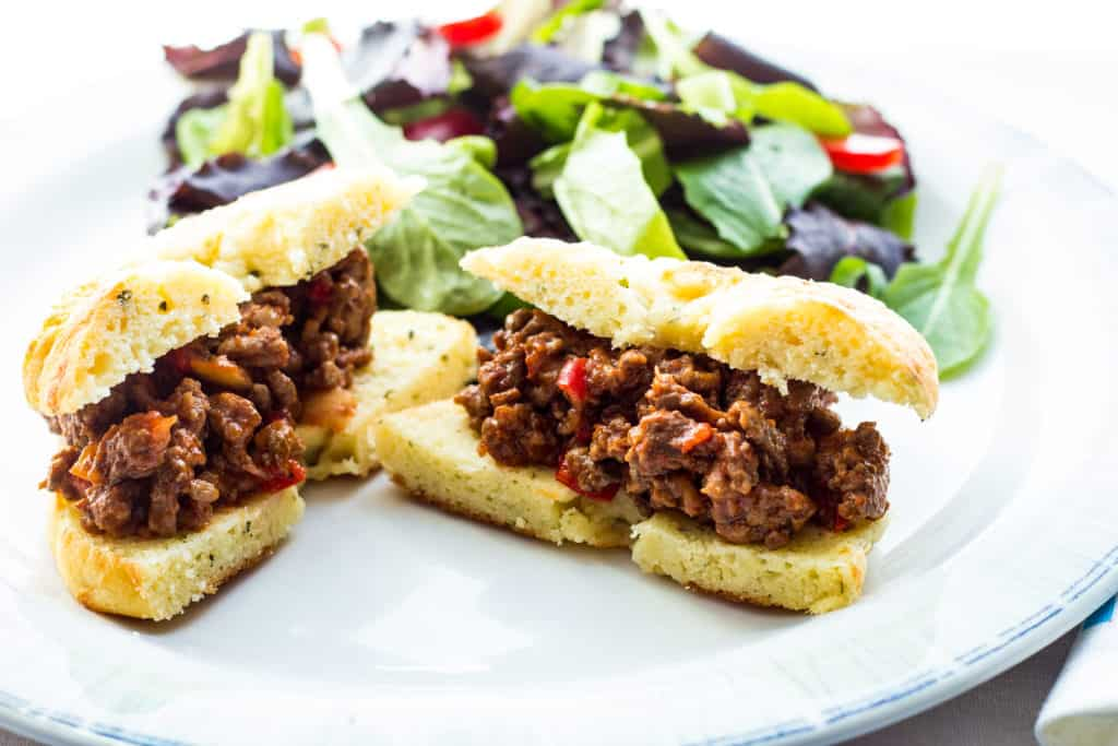 Easy and tasty Keto Sloppy Joes are on the table in under 30!