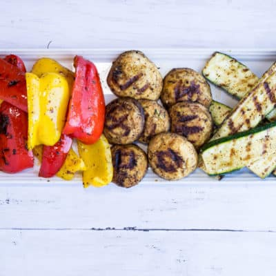 Keto Grilled Veggies