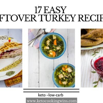 The BEST Leftover Turkey Keto Recipes
