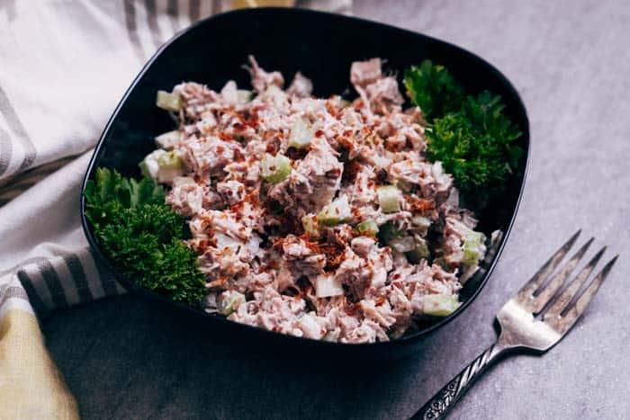 keto turkey salad recipe