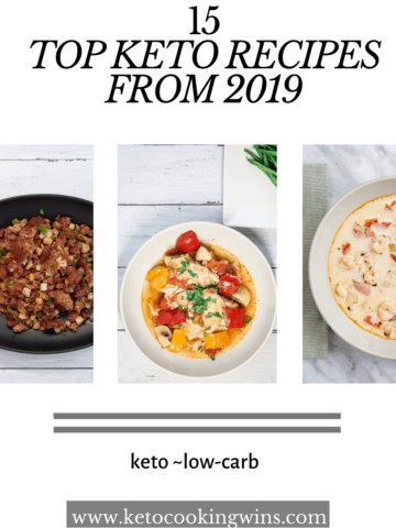 15 of the best keto recipes from 2019