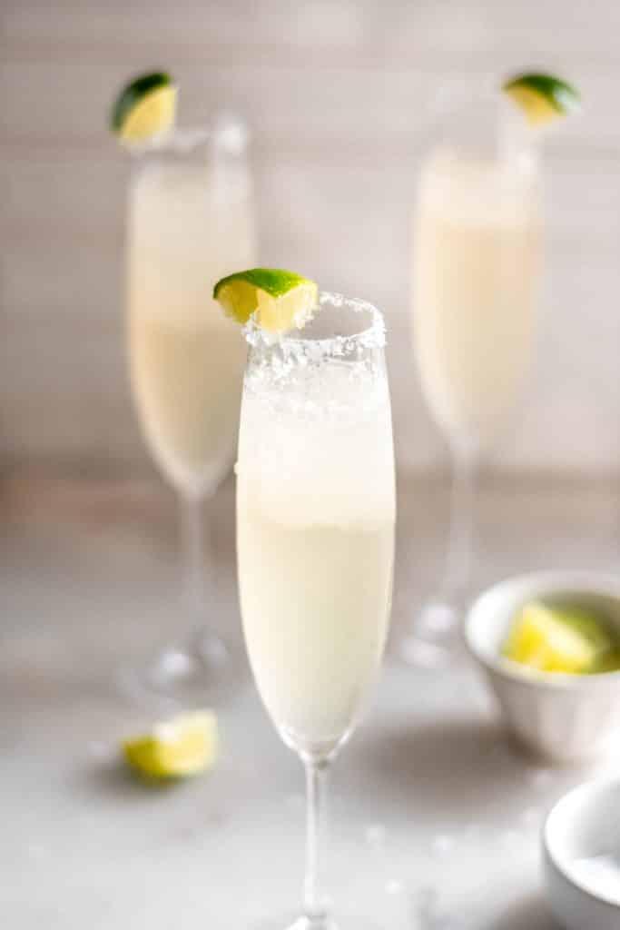 keto champagne margarita