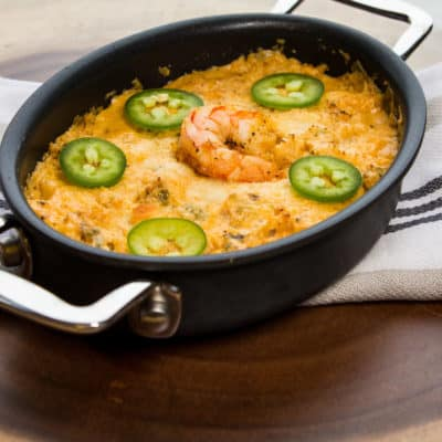 Cajun Shrimp Dip (Keto, Low-Carb)