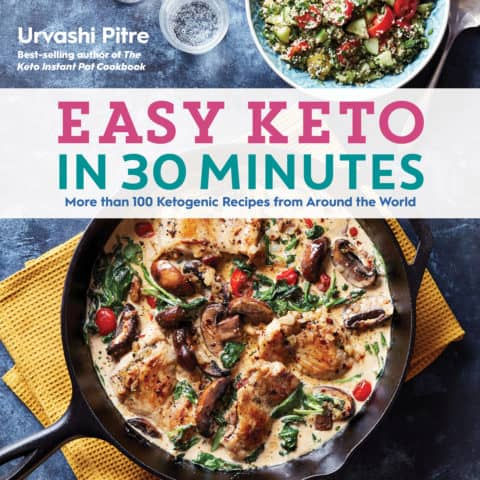 easy keto in 30 minutes by urvashi pitre
