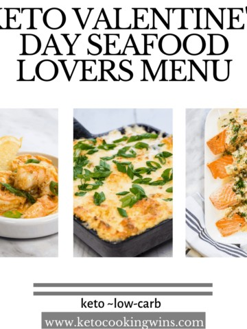 keto seafood lovers menu