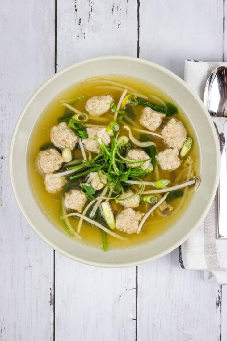 keto wonton soup