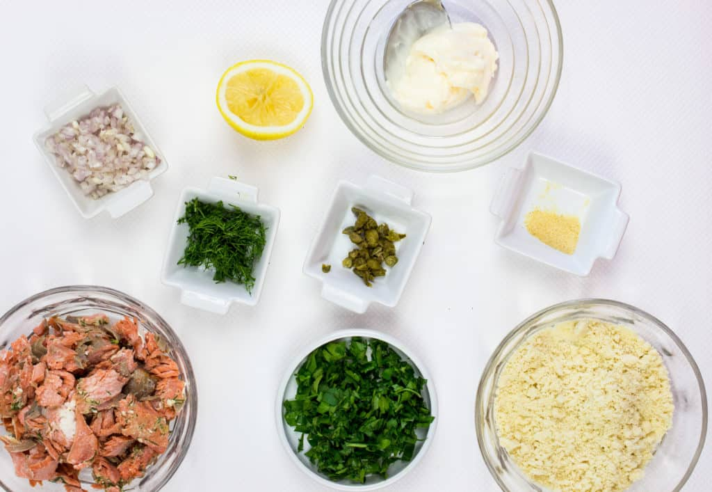 keto salmon patties ingredients
