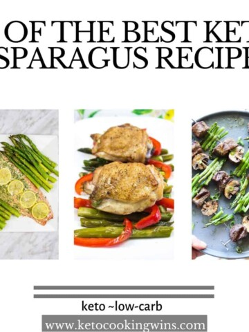 20 of the best asparagus recipes featuring sheet pan salmon, garlic chicken with asparagus and steak and asparagus kabobs
